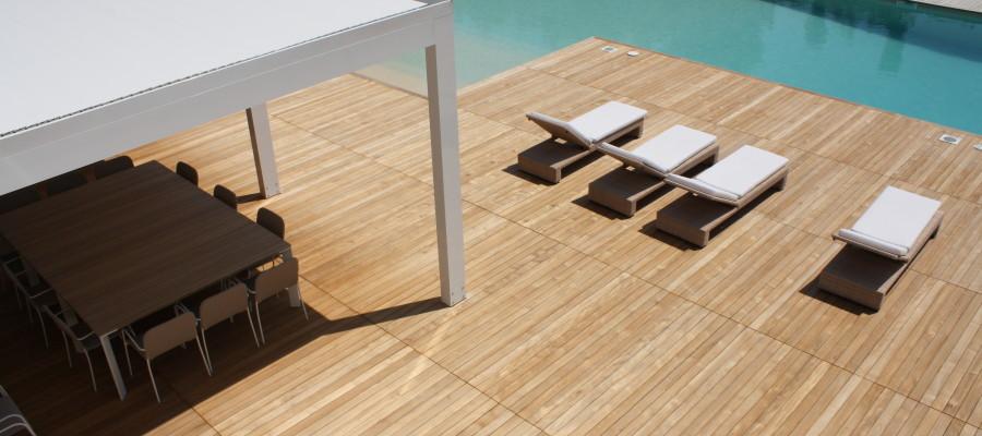 Grigliati in legno per esterni