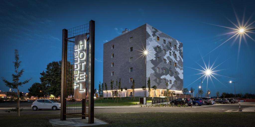 Vista prospettica Hotel Cube